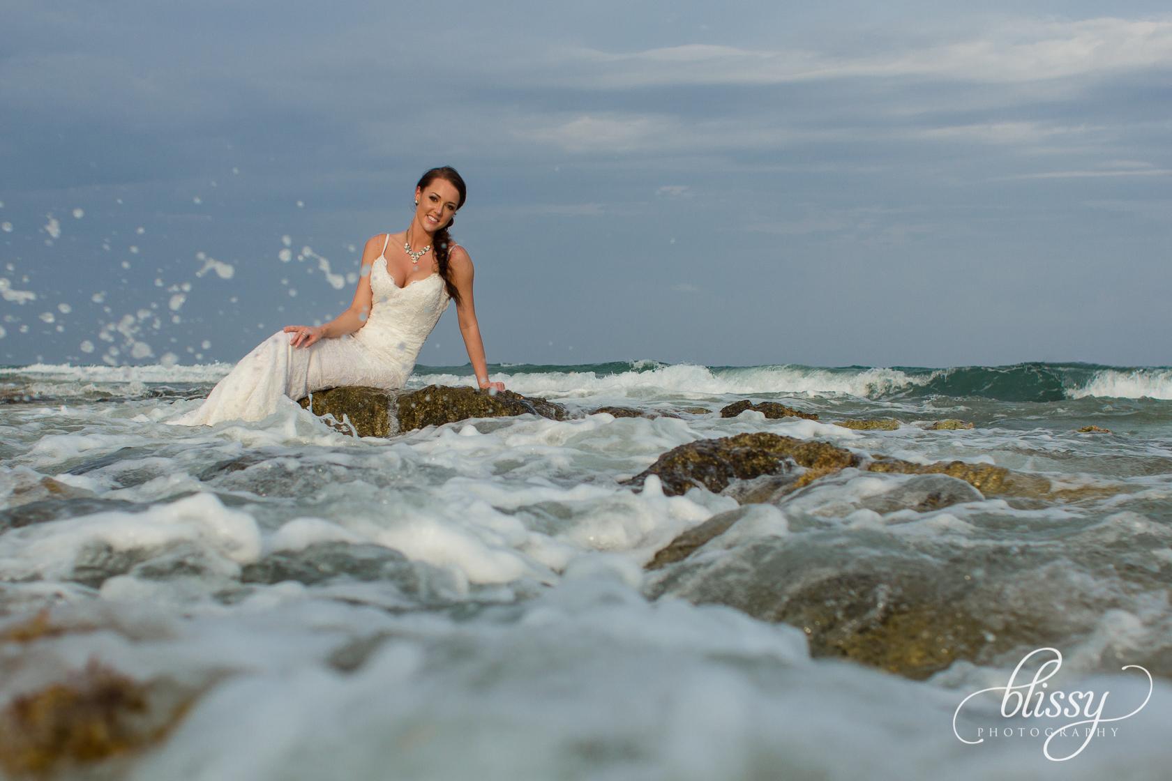 Destination Wedding Beach Riviera Maya Holly 13